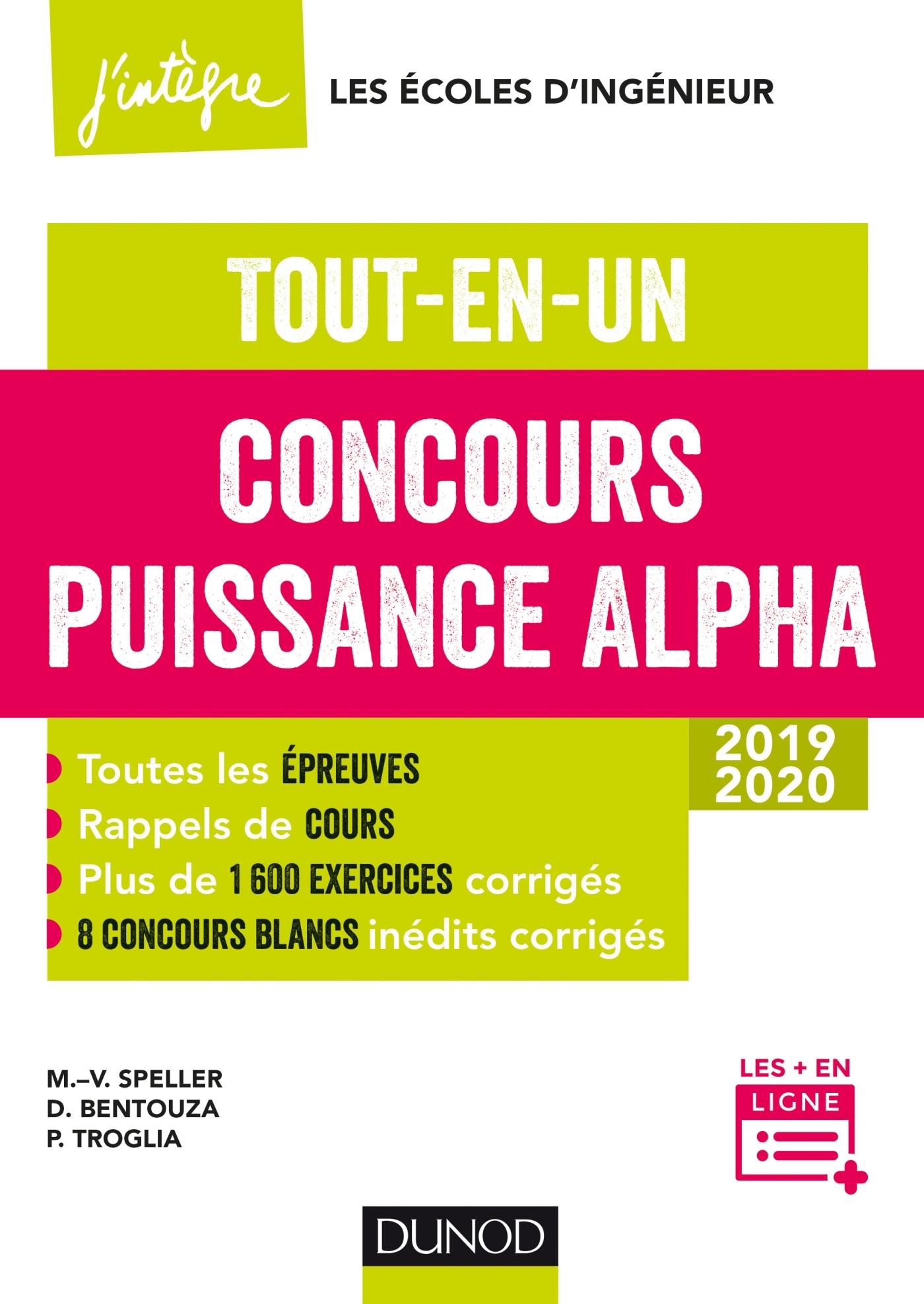 CONCOURS PUISSANCE ALPHA - TOUT-EN-UN - 2019-2020