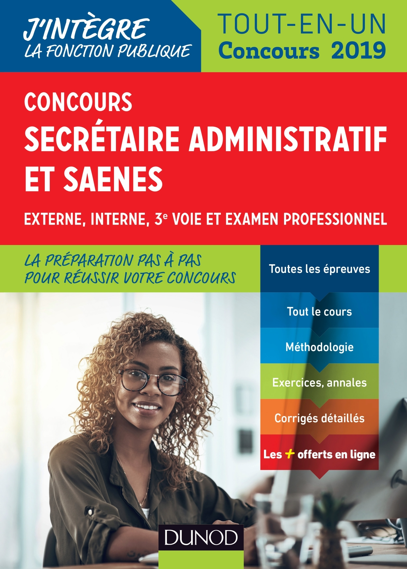 CONCOURS SECRETAIRE ADMINISTRATIF ET SAENES - TOUT-EN-UN - CONCOURS 2019
