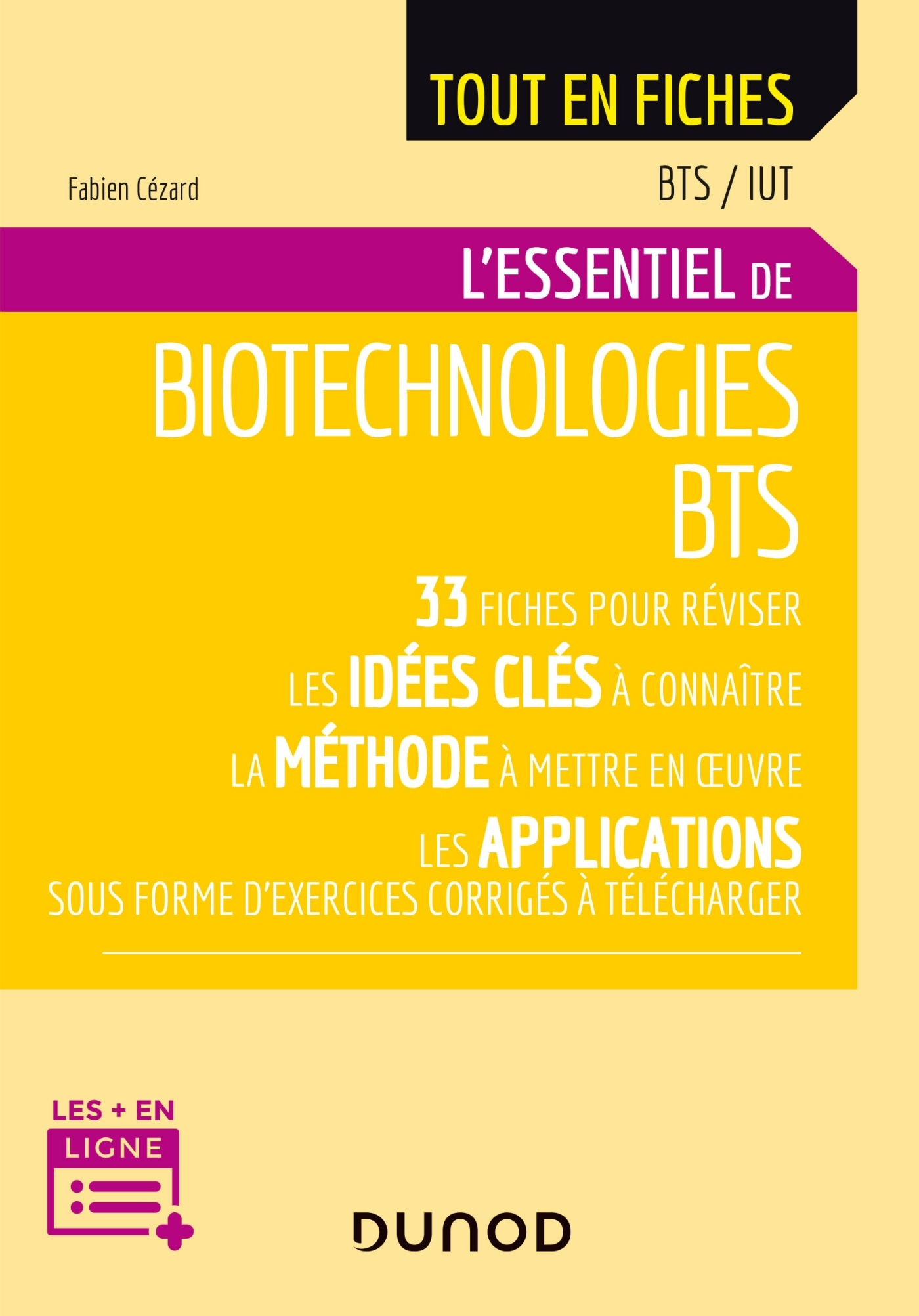 BIOTECHNOLOGIES - BTS - 2E ED.