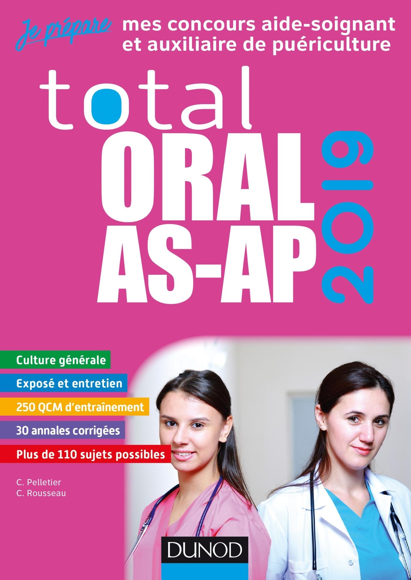 TOTAL ORAL AS-AP 2019 - CONCOURS AIDE-SOIGNANT ET AUXILIAIRE DE PUERICULTURE