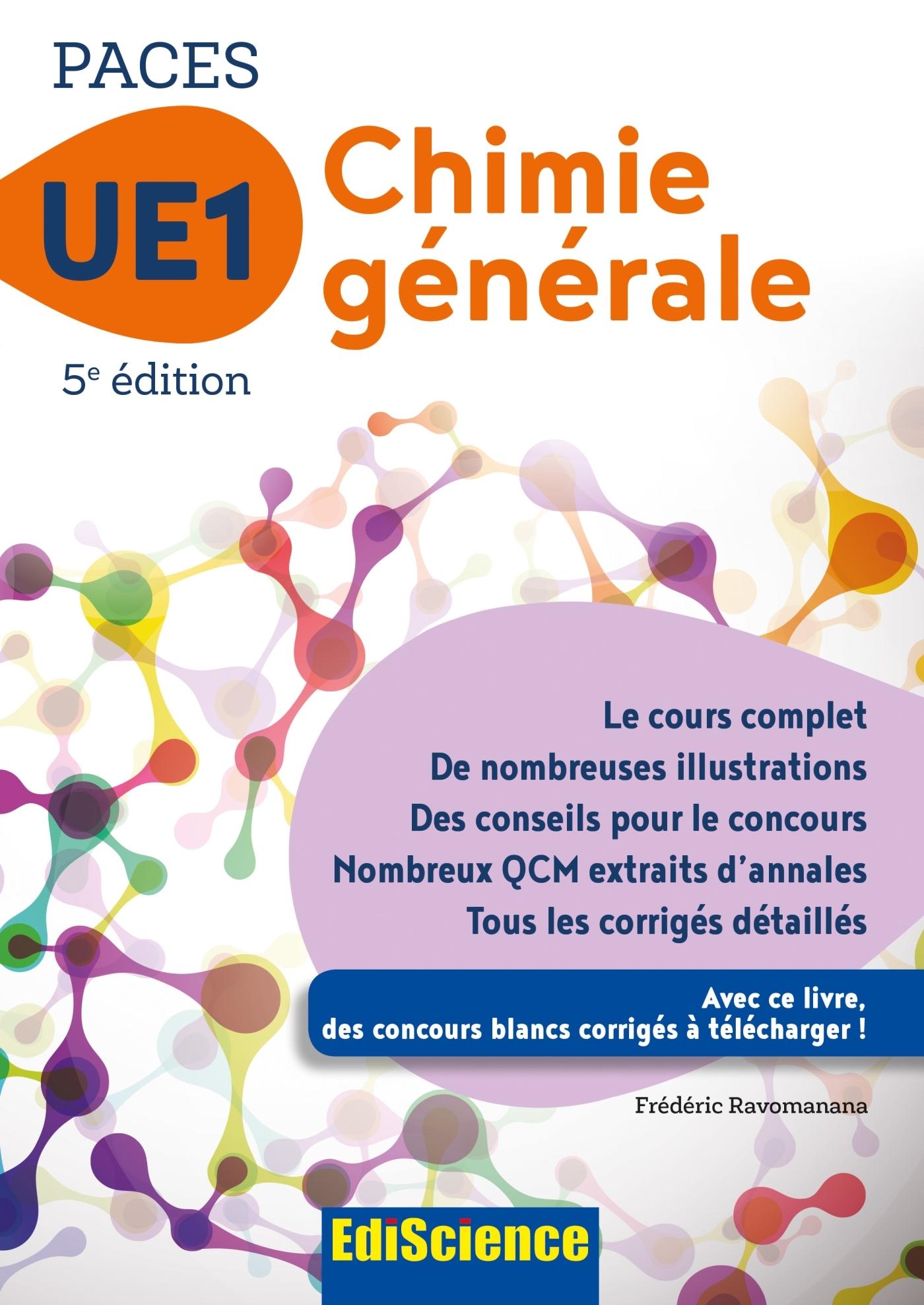 PACES UE1 CHIMIE GENERALE - 5E ED. - 1 - UE1 - T1