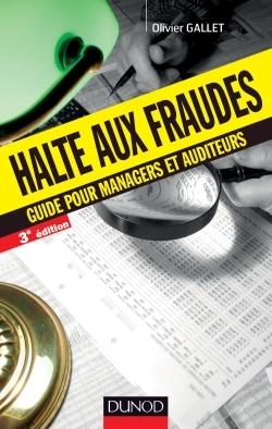 HALTE AUX FRAUDES - 3E ED. - GUIDE POUR MANAGERS ET AUDITEURS