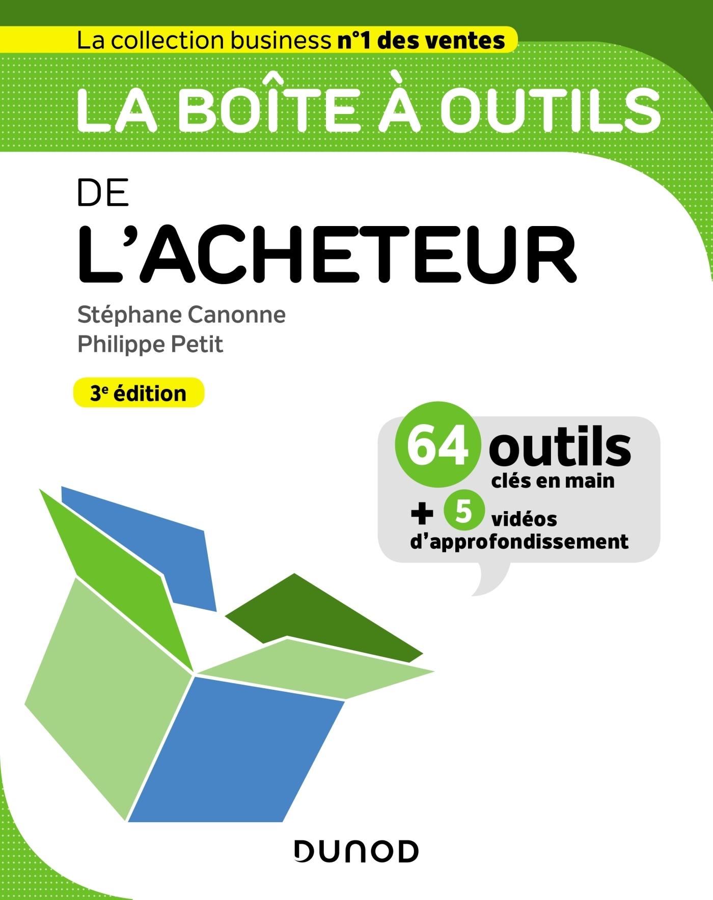 LA BOITE A OUTILS DE L'ACHETEUR - 3E ED.