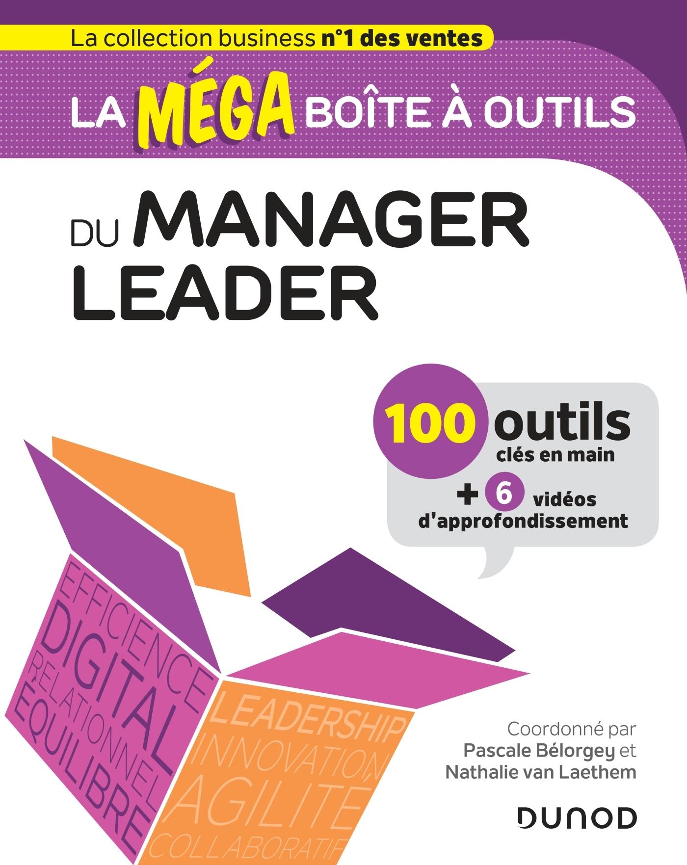 LA MEGA BOITE A OUTILS DU MANAGER LEADER - 100 OUTILS