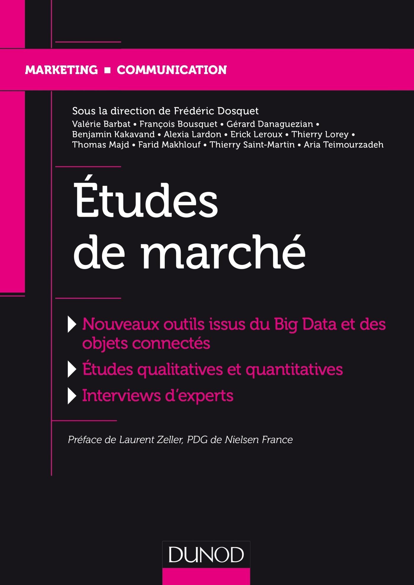ETUDES DE MARCHE
