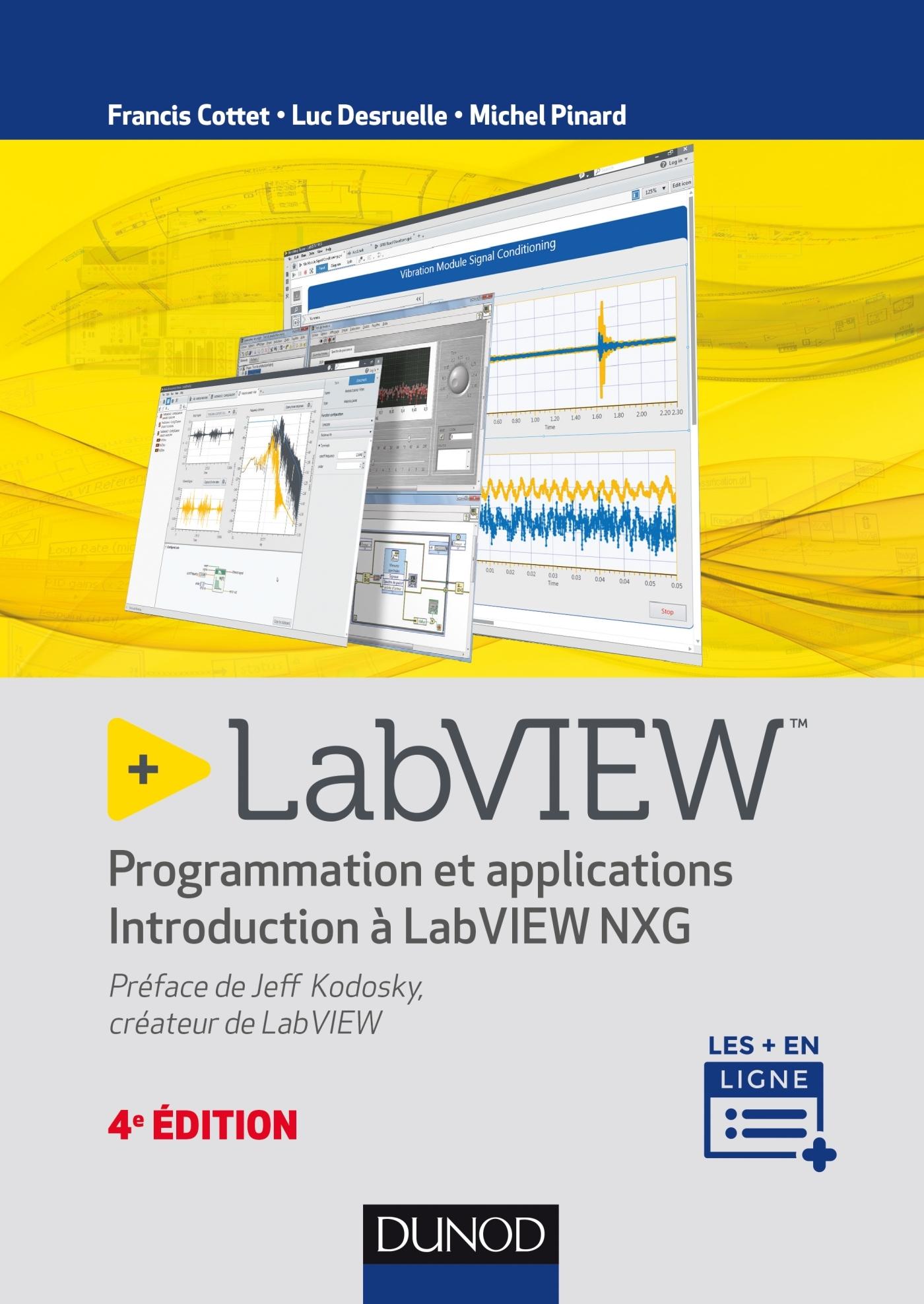 LABVIEW - 4E ED. - PROGRAMMATION ET APPLICATIONS - INTRODUCTION A LABVIEW NXG