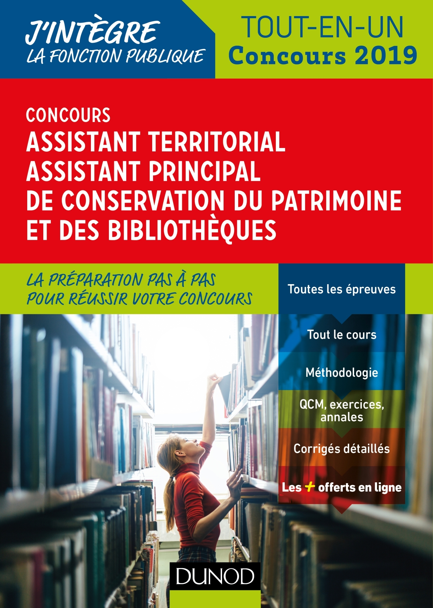 CONCOURS ASSISTANT TERRITORIAL DE CONSERVATION DU PATRIMOINE ET DES BIBLIOTHEQUES - CONCOURS 2019 -
