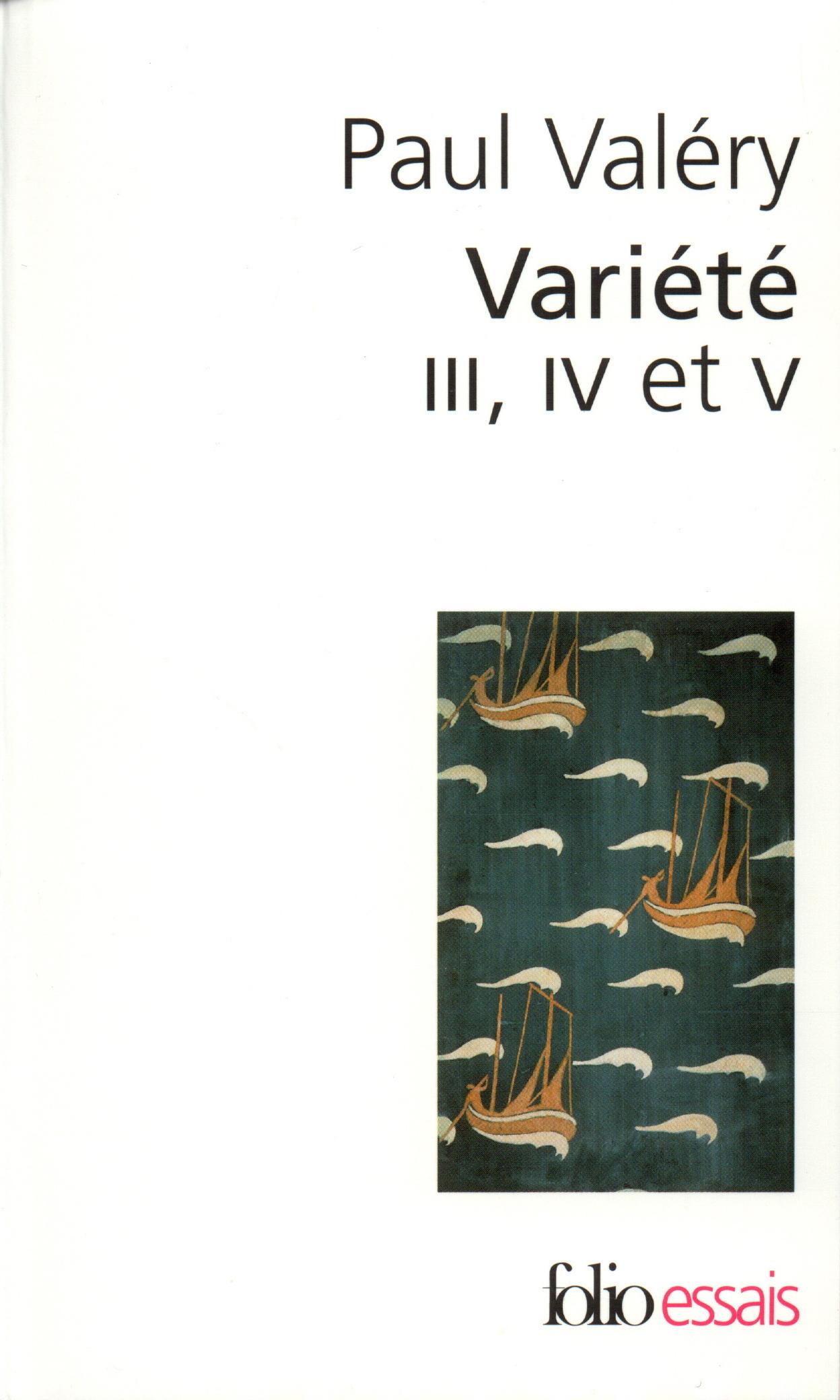 VARIETE III, IV ET V