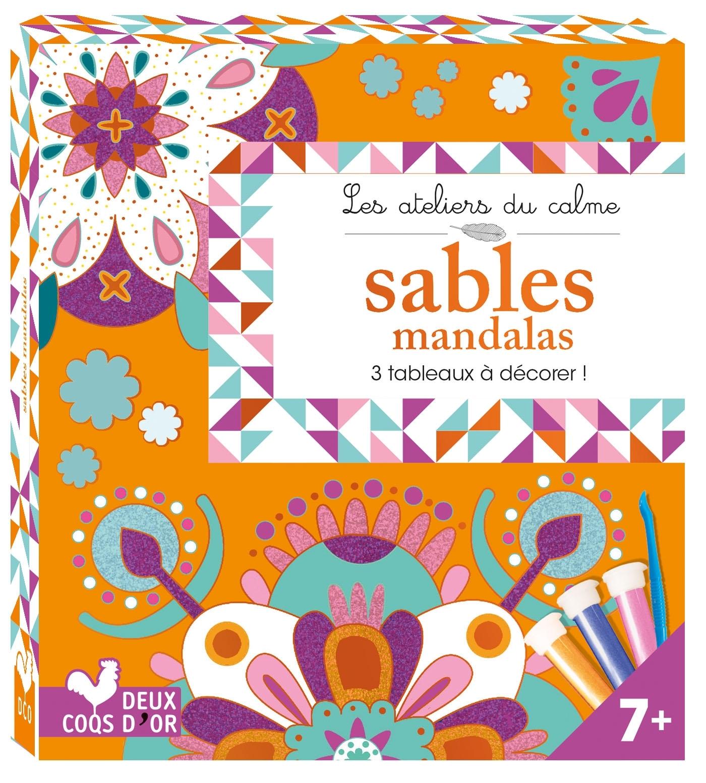 SABLES MANDALAS - MINI BOITE AVEC ACCESSOIRES