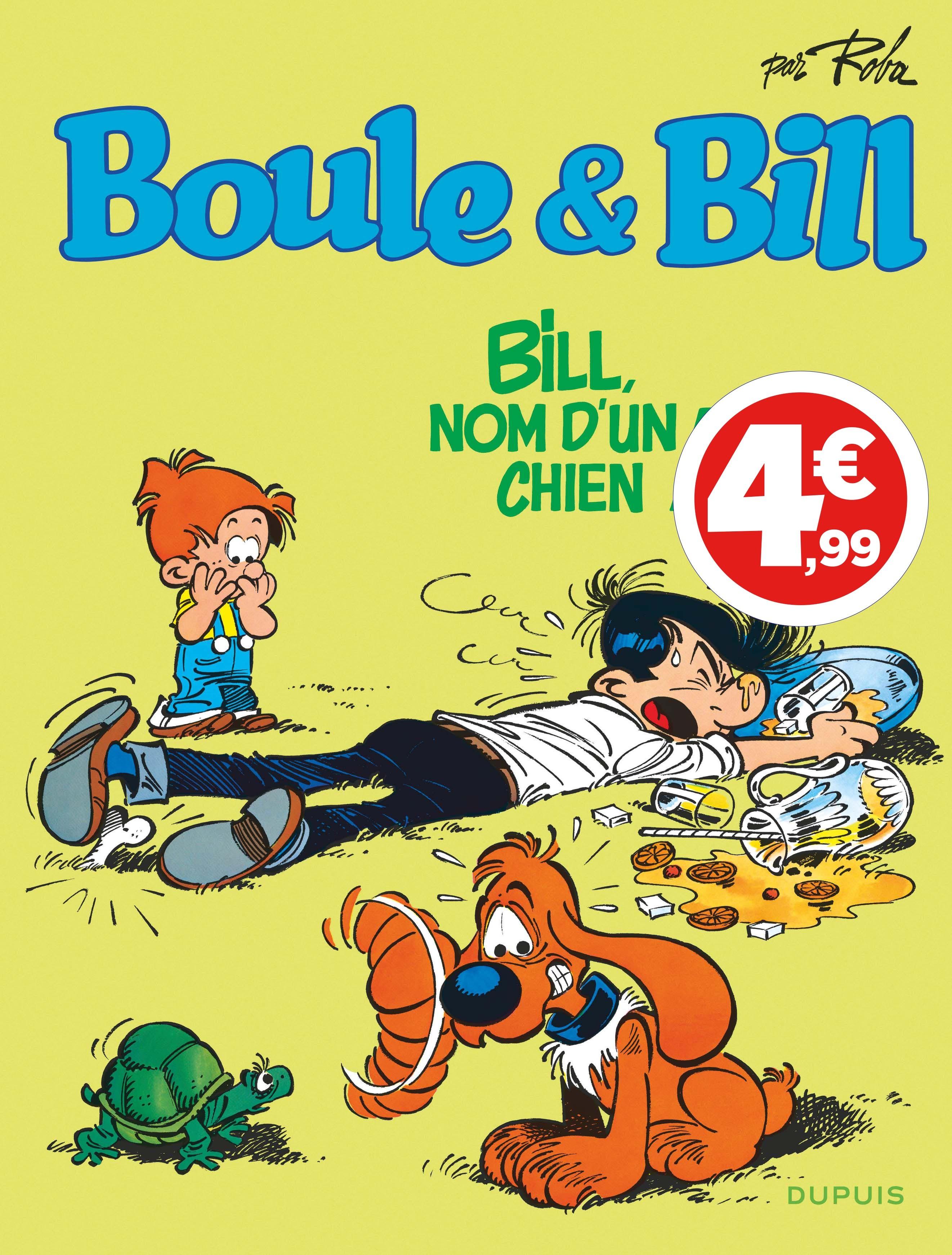 BOULE & BILL (DUPUIS) - BOULE ET BILL - TOME 20 - BILL, NOM D'UN CHIEN ! (INDISPENSABLES 2020)