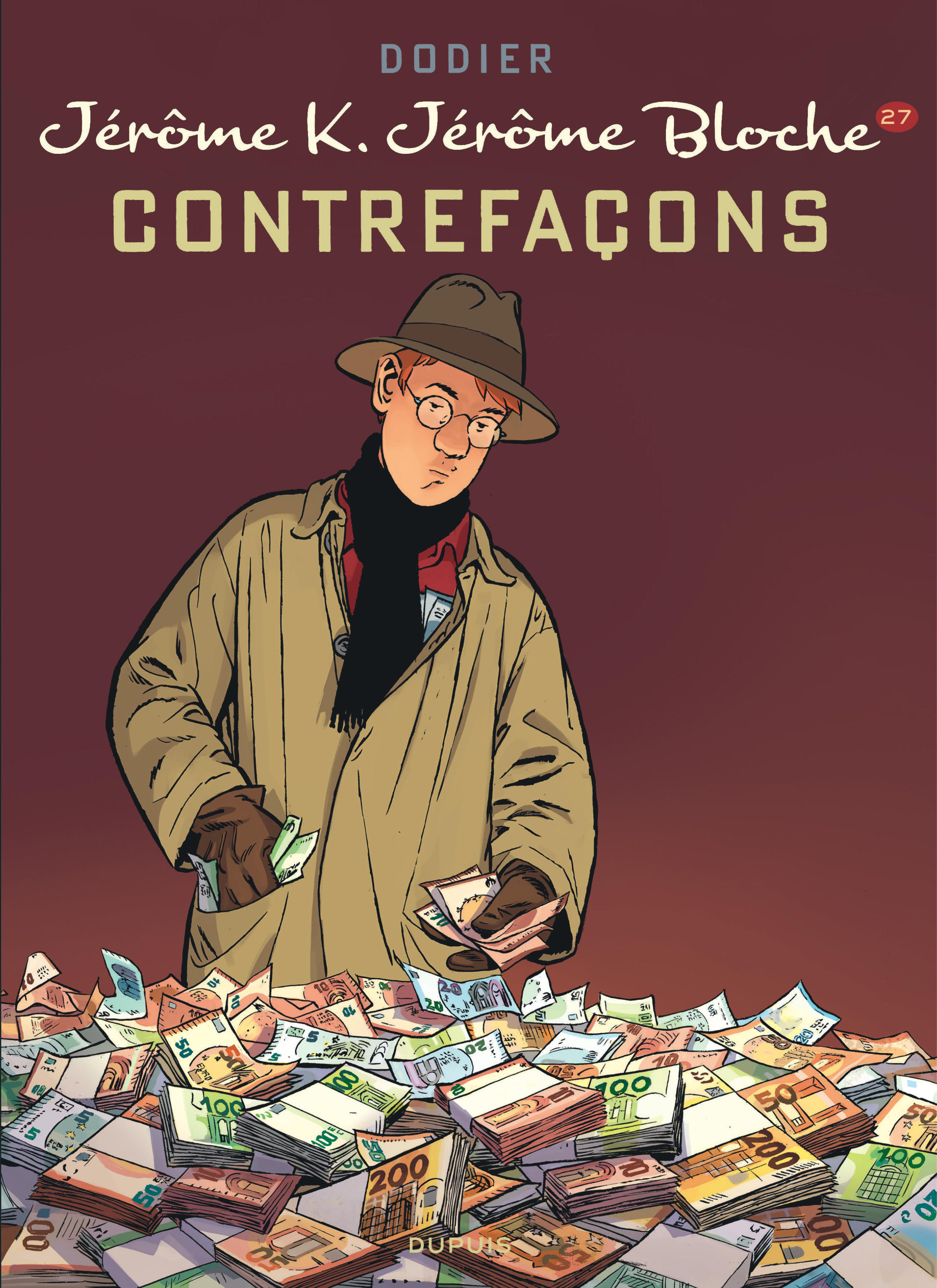 JEROME K. JEROME BLOCHE - TOME 27 - CONTREFACONS