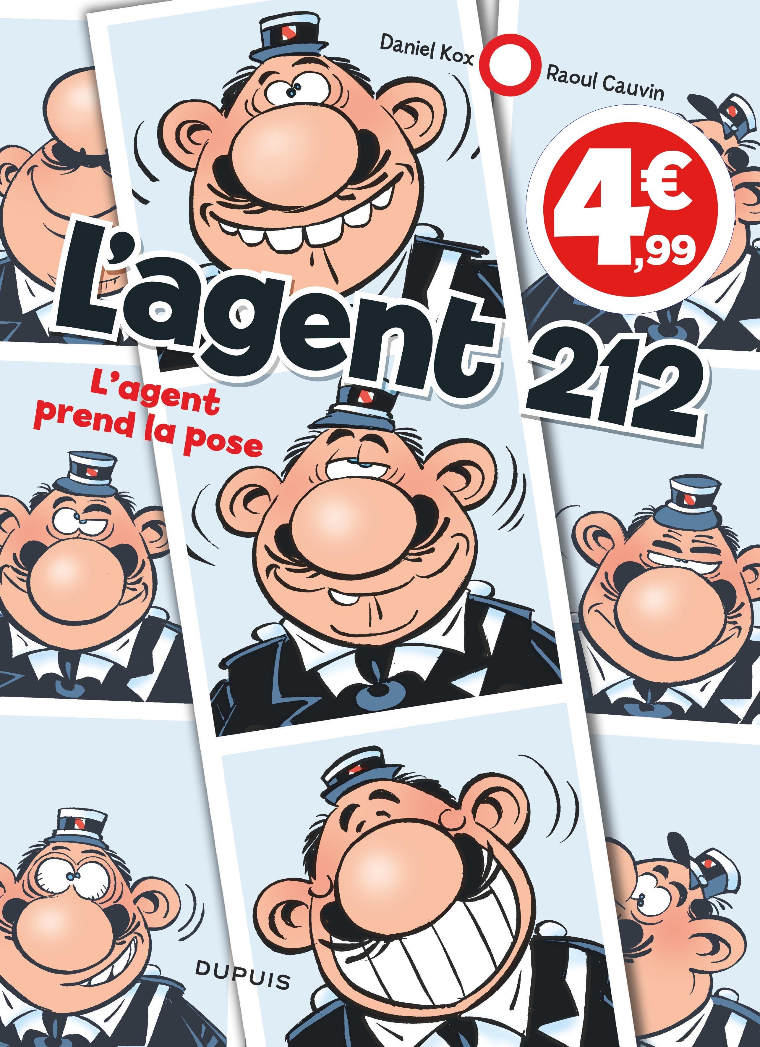 AGENT 212 - COMPIL - L'AGENT 212 - TOME 25 - L'AGENT PREND LA POSE (INDISPENSABLES 2020)
