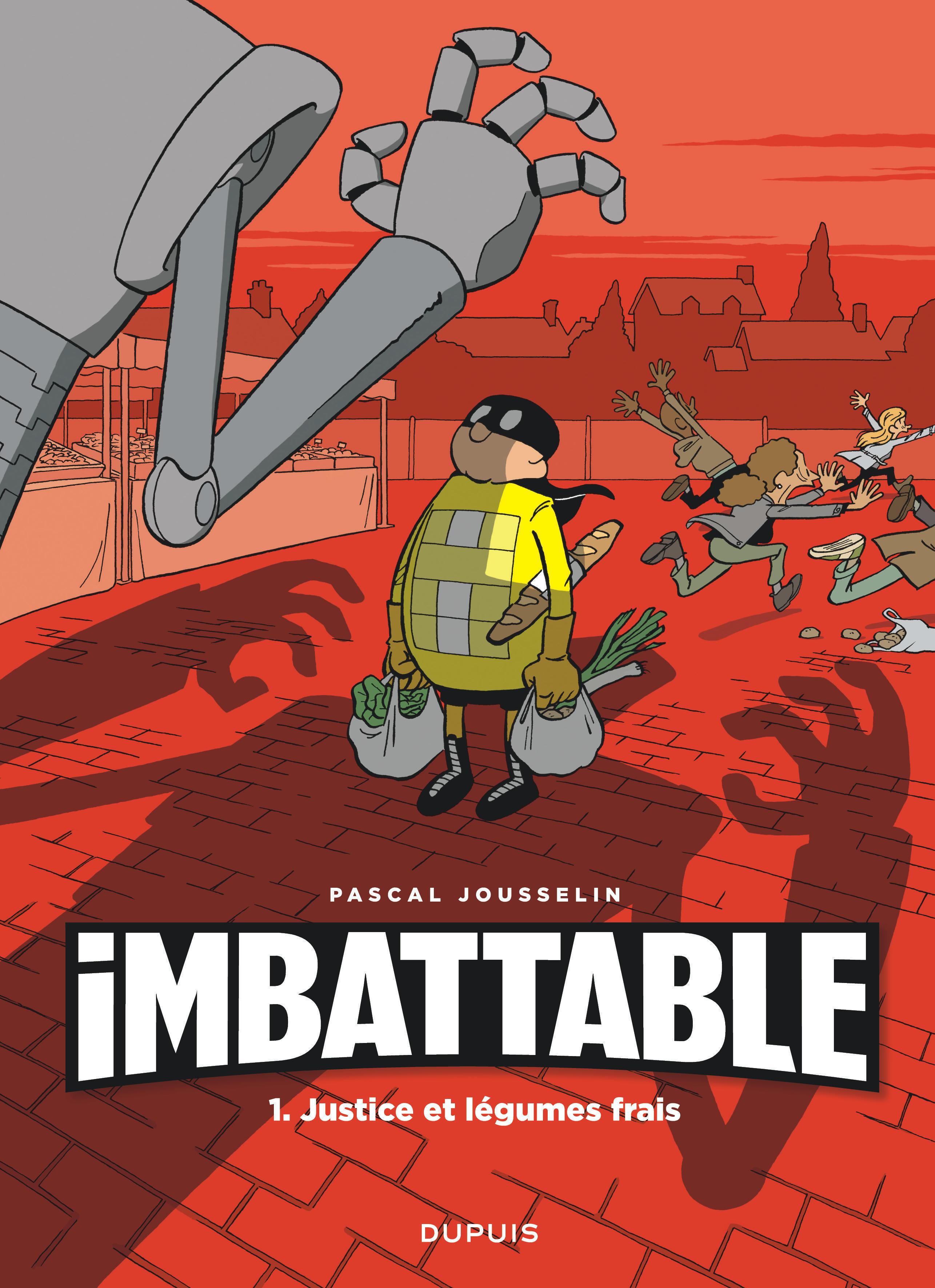 IMBATTABLE - TOME 1 - JUSTICE ET LEGUMES FRAIS (OPE JEUNESSE 7?)