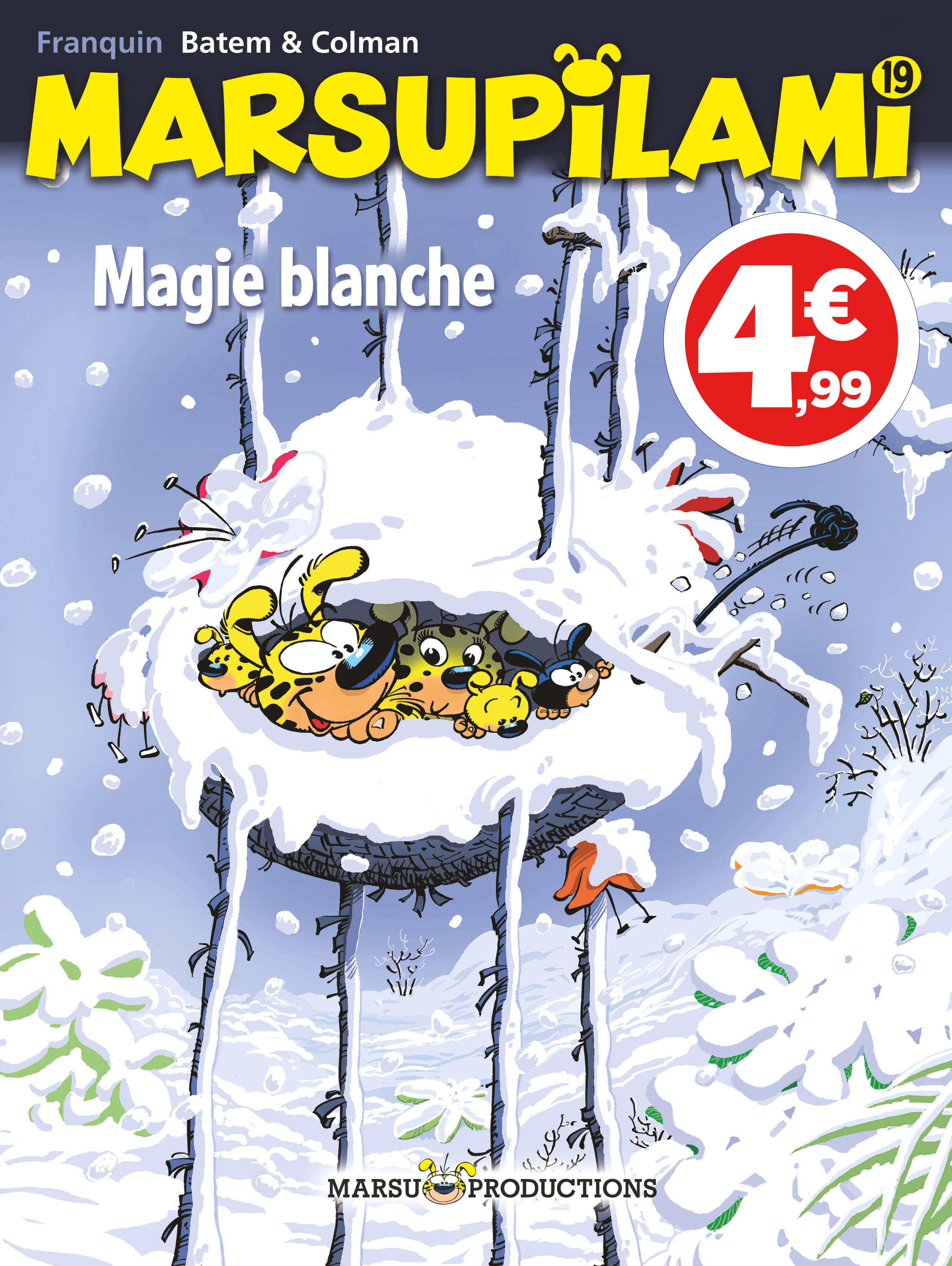 MARSUPILAMI - TOME 19 - MAGIE BLANCHE (INDISPENSABLES 2020)