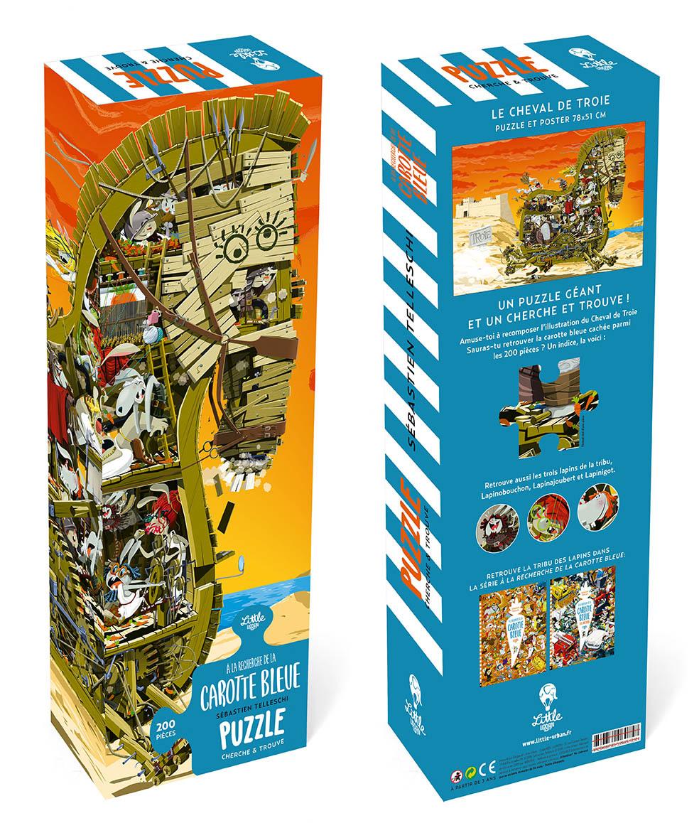 PUZZLE GEANT A LA RECHERCHE DE LA CAROTTE BLEUE - TOME  - PUZZLE GEANT A LA RECHERCHE DE LA CAROTTE