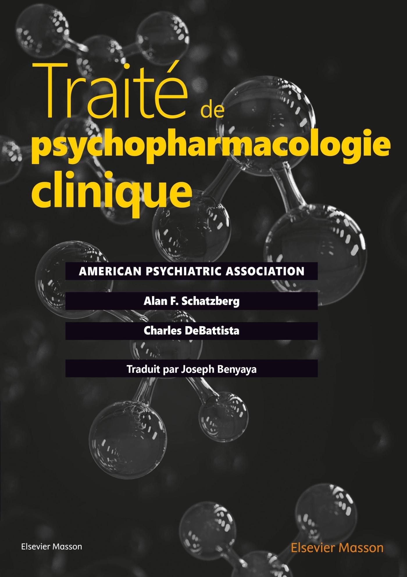 TRAITE DE PSYCHOPHARMACOLOGIE CLINIQUE