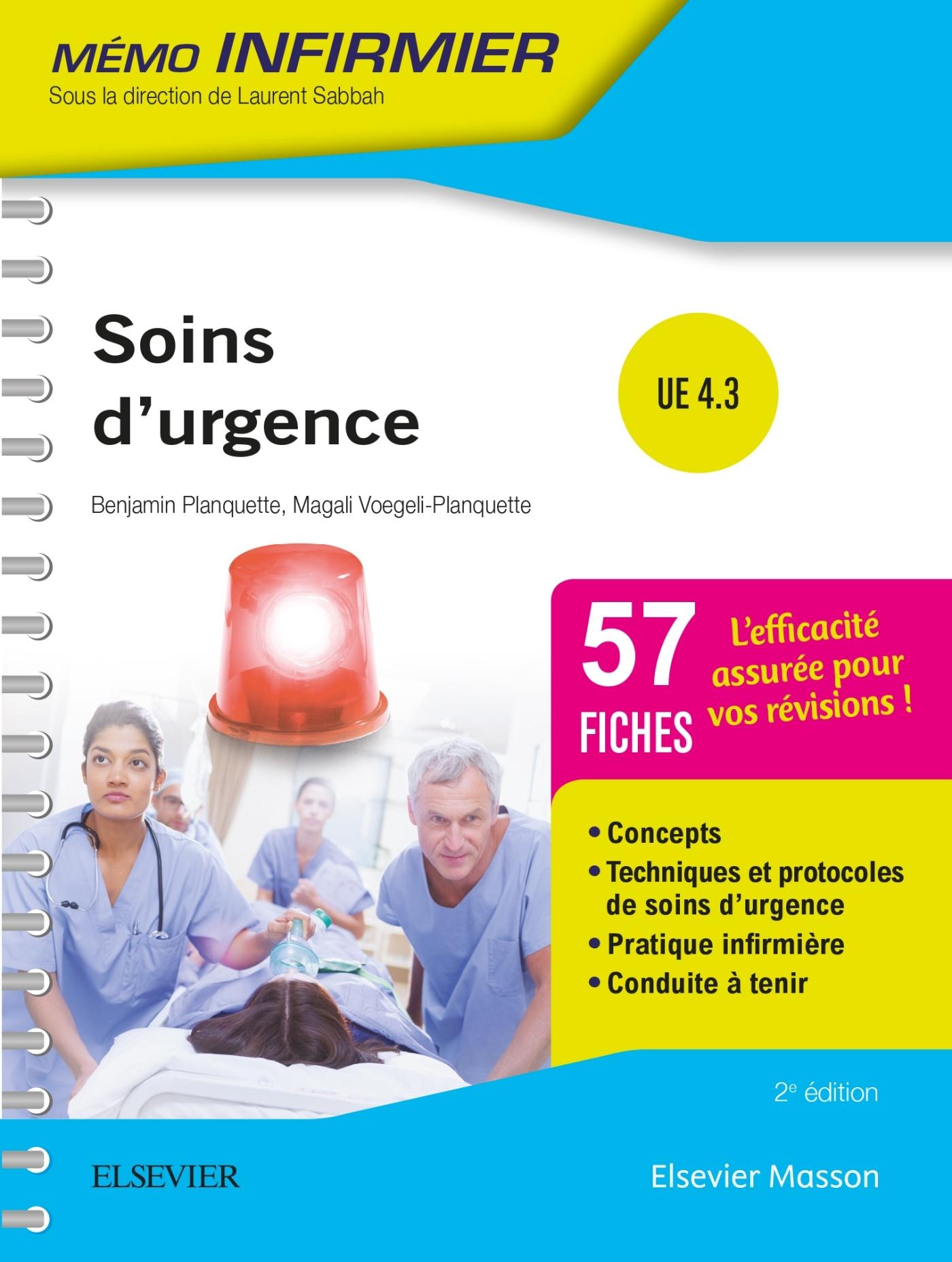 SOINS D'URGENCE - UNITES D'ENSEIGNEMENT 4.3