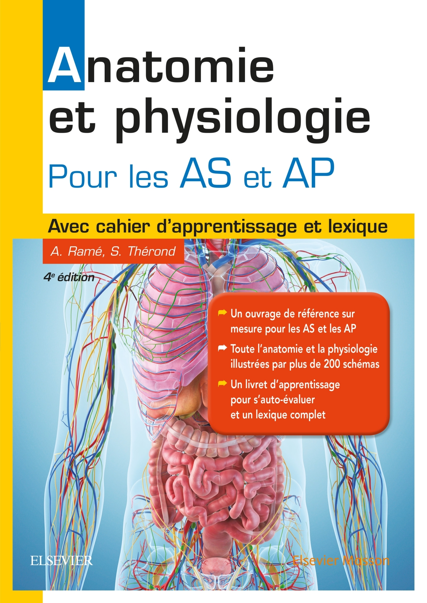 ANATOMIE ET PHYSIOLOGIE. AIDE-SOIGNANT ET AUXILIAIRE DE PUERICULTURE - AVEC CAHIER D'APPRENTISSAGE E