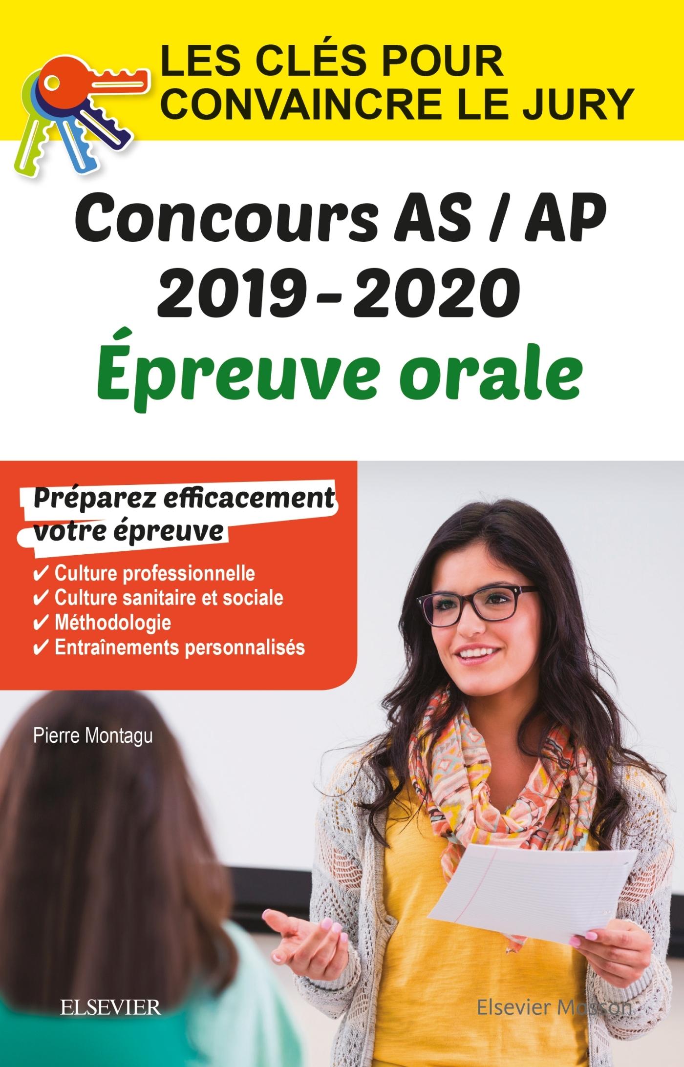 CONCOURS AIDE-SOIGNANT ET AUXILIAIRE DE PUERICULTURE ? EPREUVE ORALE ? IFAS/IFAP 2019-2020 - LES CLE