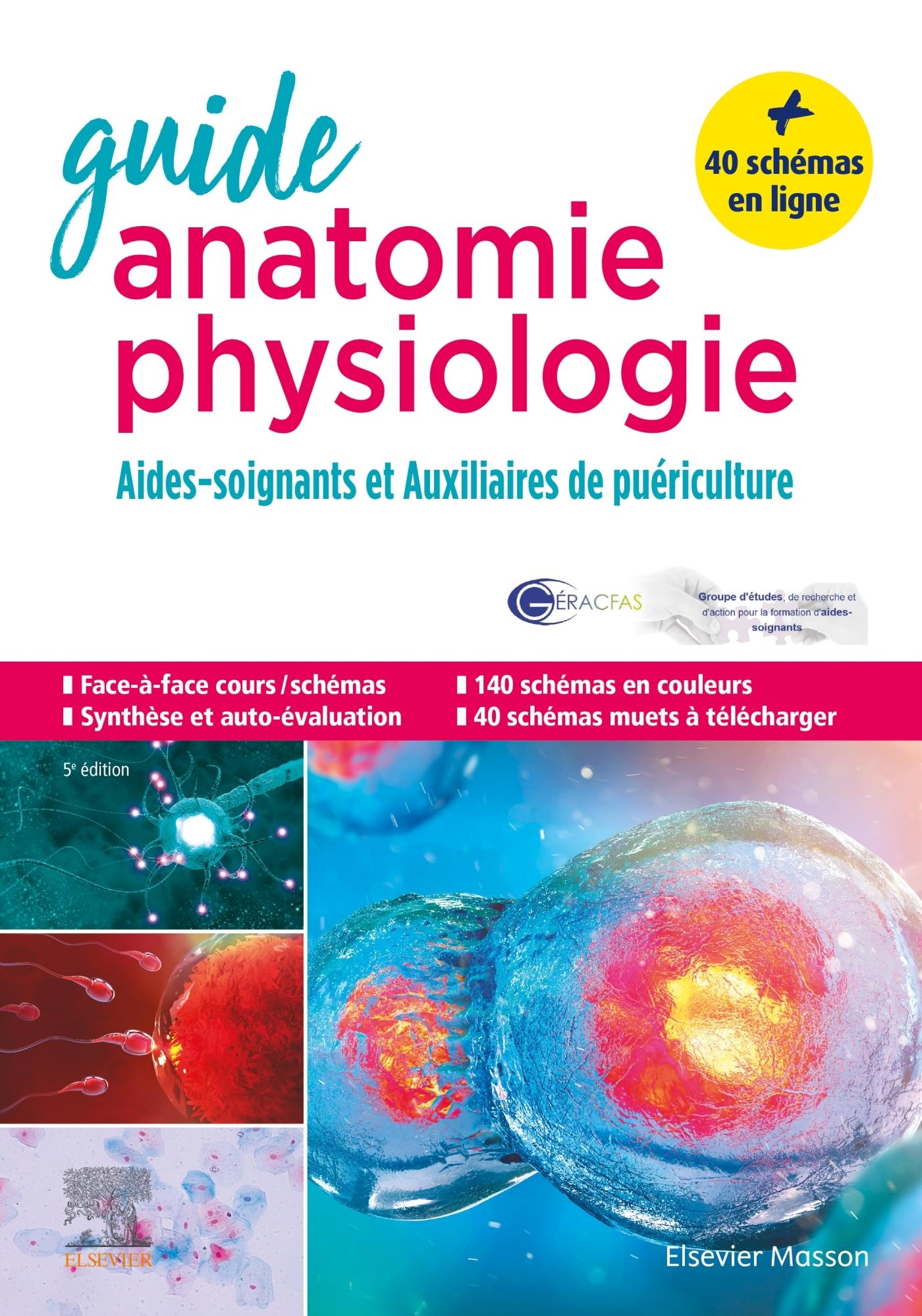 GUIDE ANATOMIE ET PHYSIOLOGIE POUR LES AS ET AP - AIDES-SOIGNANTS ET AUXILIAIRES DE PUERICULTURE - L