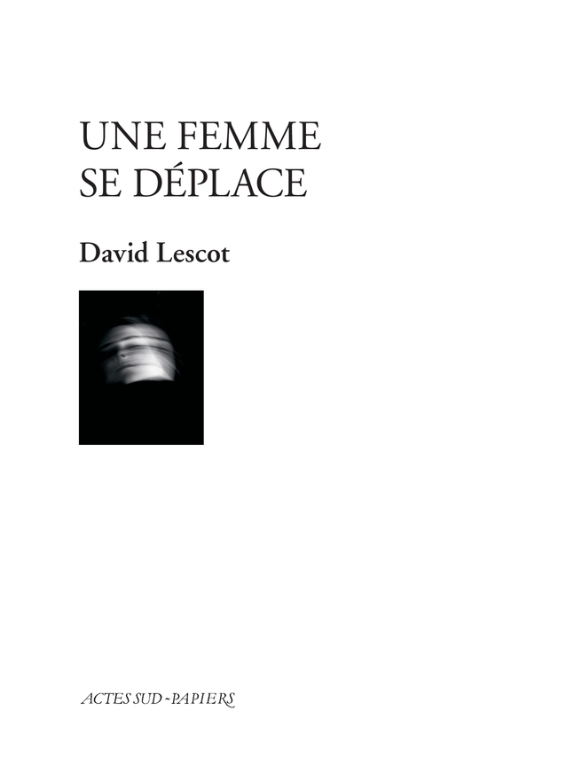UNE FEMME SE DEPLACE - COMEDIE MUSICALE