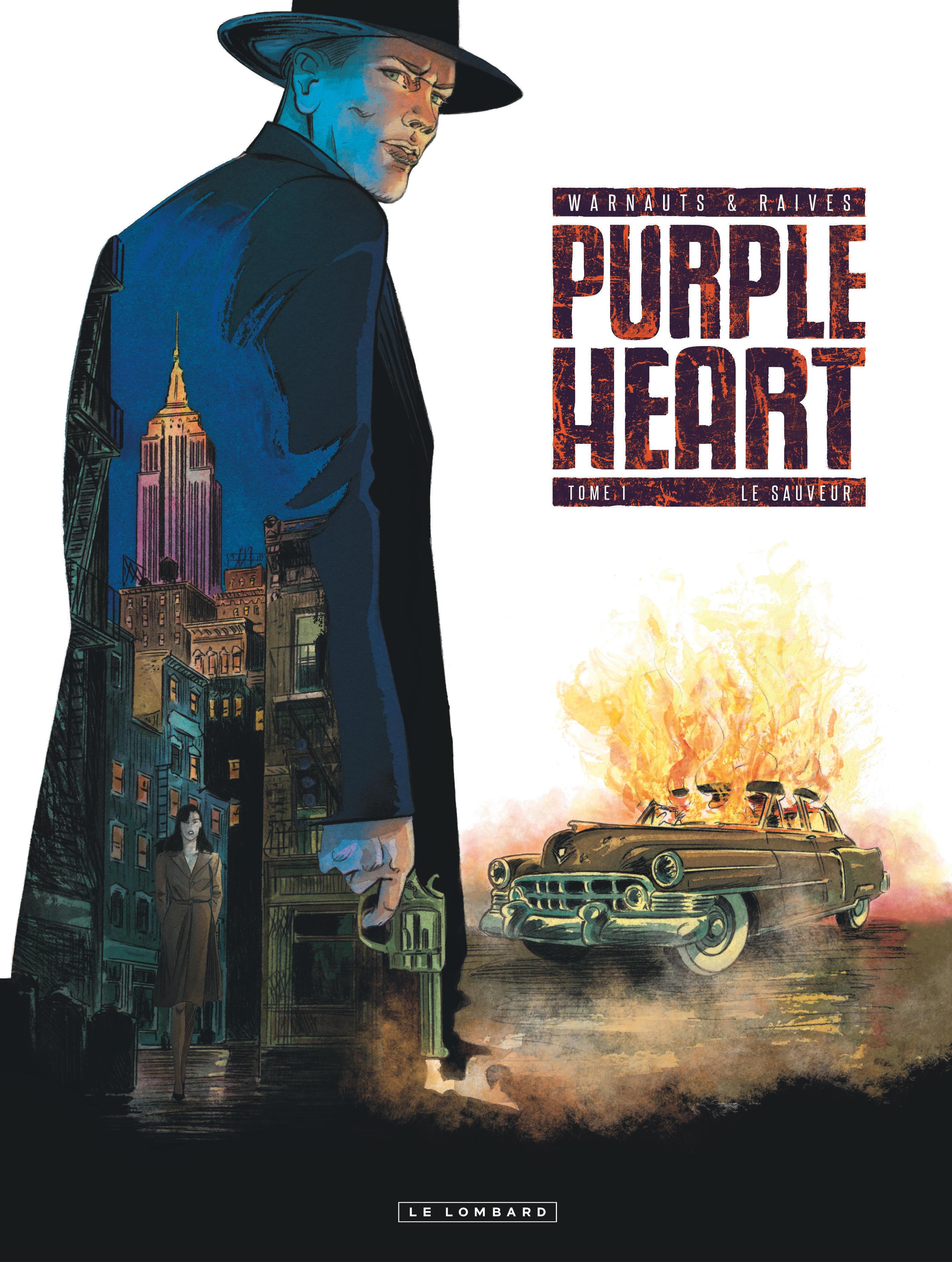 PURPLE HEART - TOME 1 - LE SAUVEUR