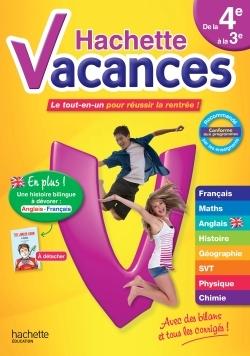 HACHETTE VACANCES DE LA 4E A LA 3E
