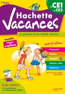 HACHETTE VACANCES - DU CE1 AU CE2
