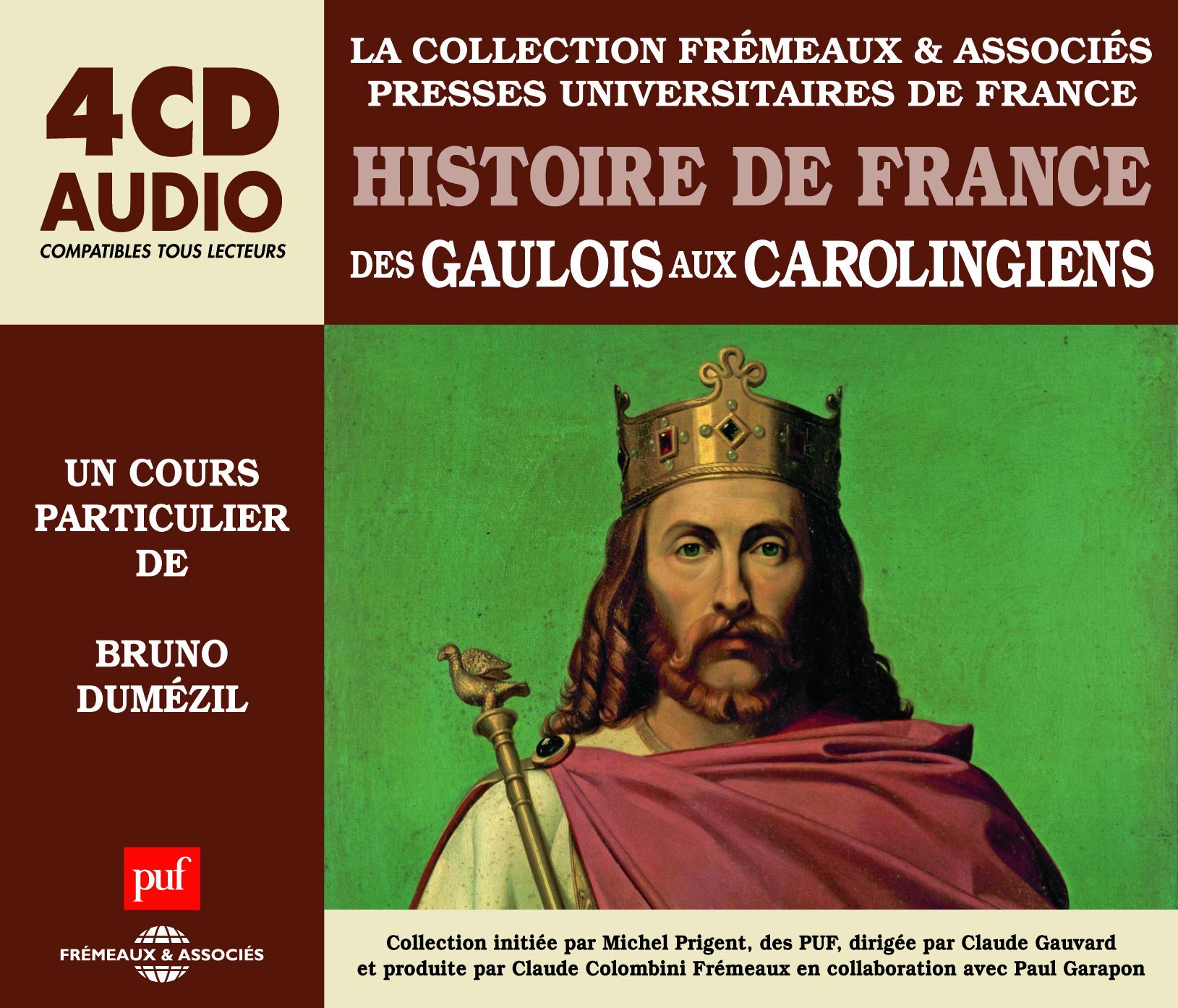 HISTOIRE DE FRANCE - DES GAULOIS AUX CAROLINGIENS - UN COURS PARTICULIER DE BRUNO DUMEZIL