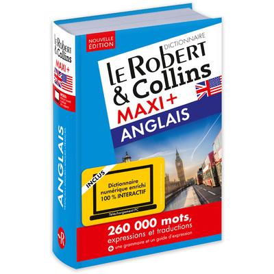 LE ROBERT & COLLINS MAXI+ ANGLAIS + CARTE TELECHARGEMENT NE
