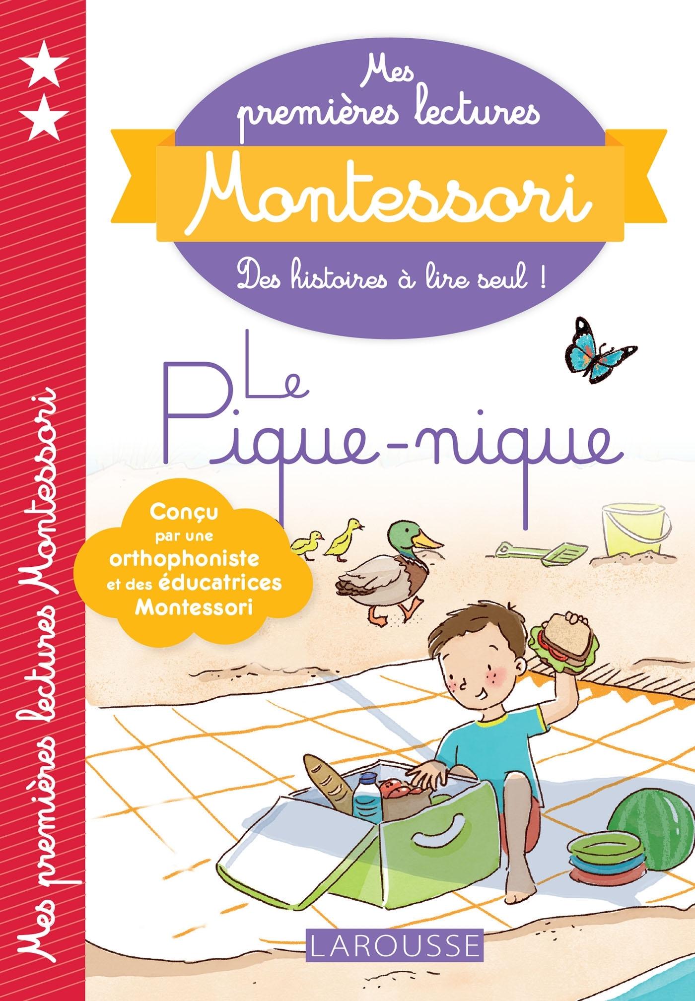 MES PREMIERES LECTURES MONTESSORI - LE PIQUE-NIQUE