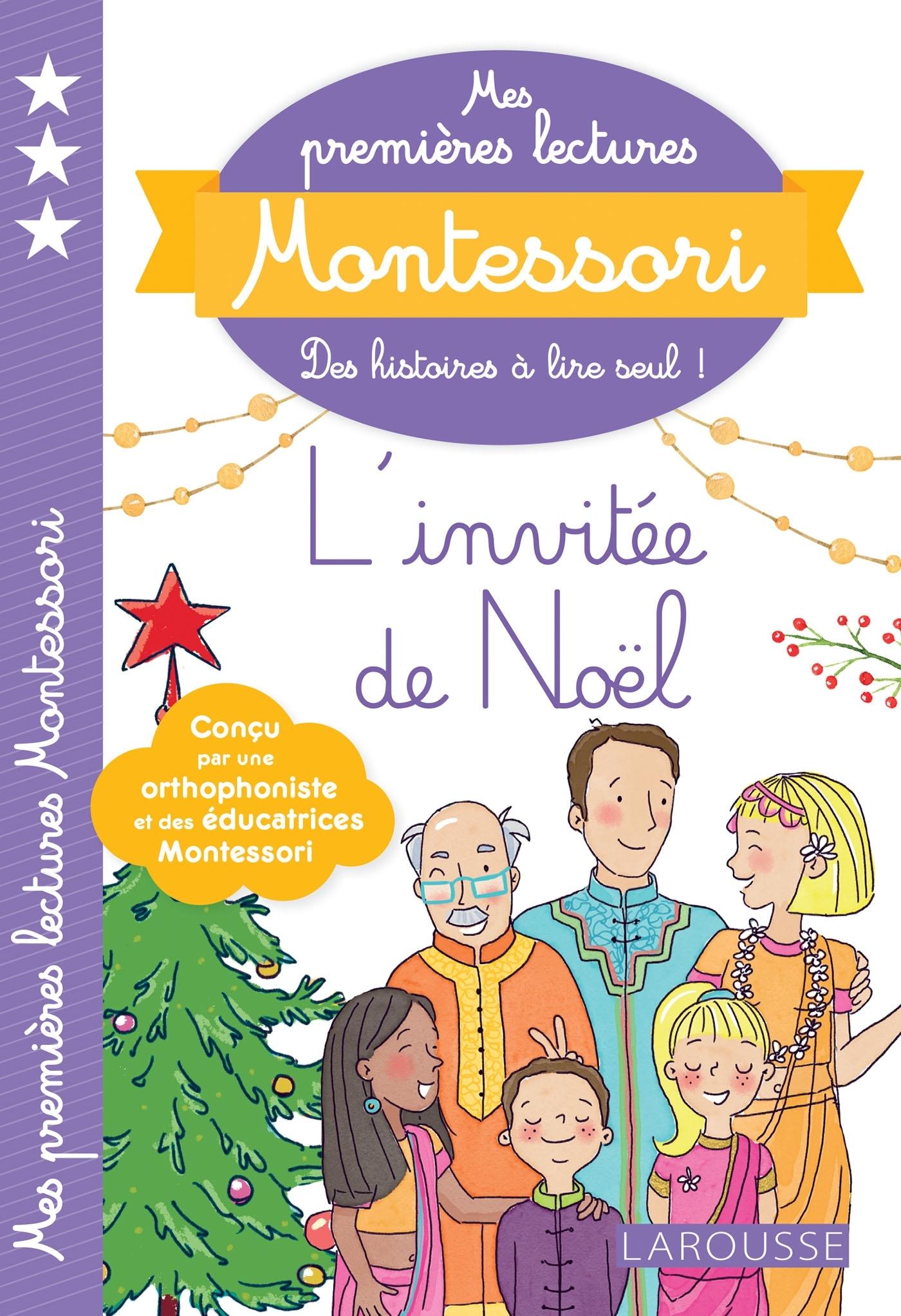 MES PREMIERES LECTURES MONTESSORI, L'INVITEE DE NOEL