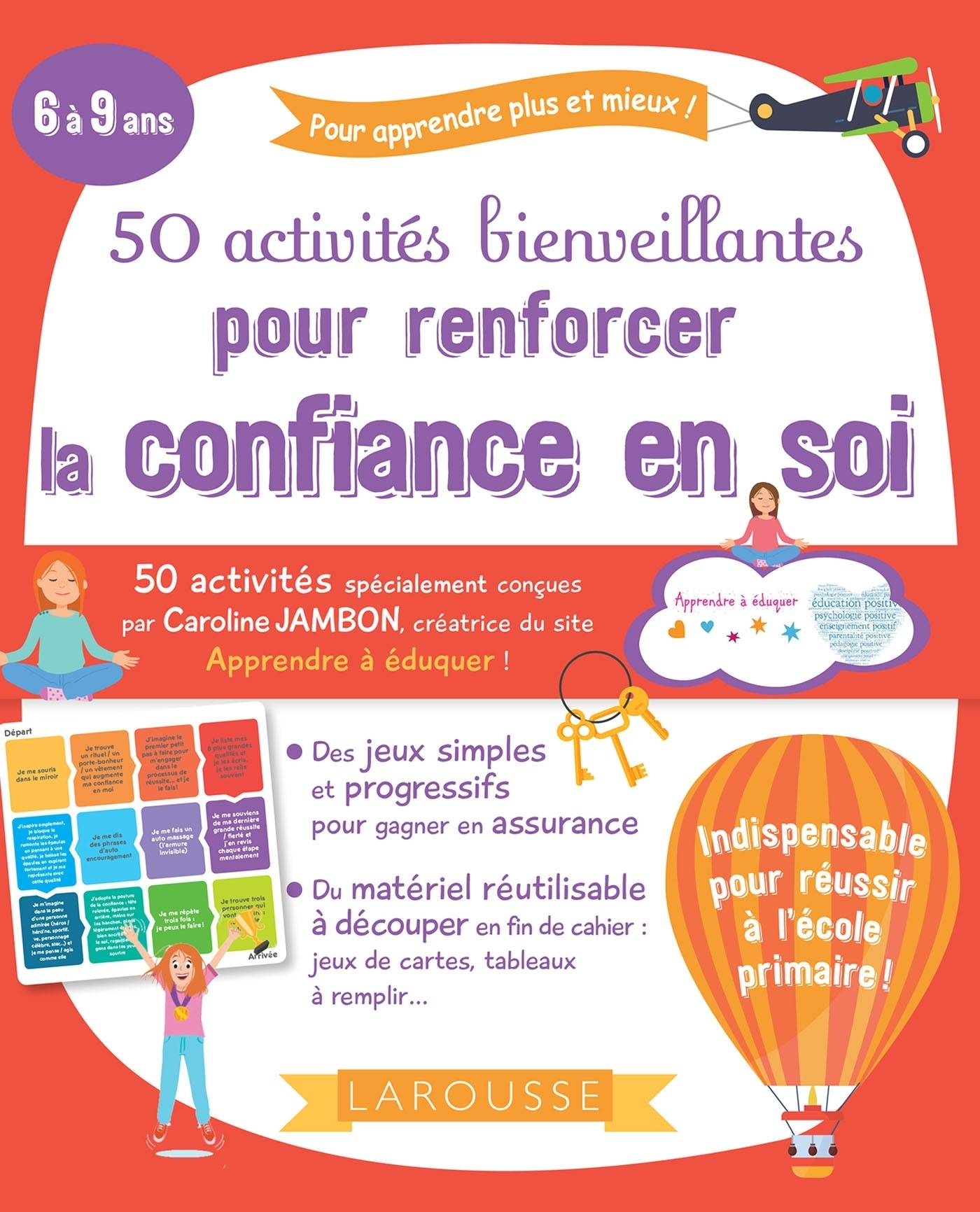 50 ACTIVITES BIENVEILLANTES POUR RENFORCER LA CONFIANCE EN SOI