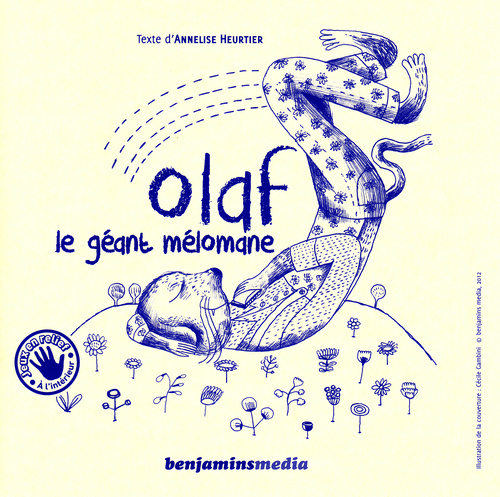 OLAF LE GEANT MELOMANE (+CD +BRAILLE ET GROS CARACTERES)