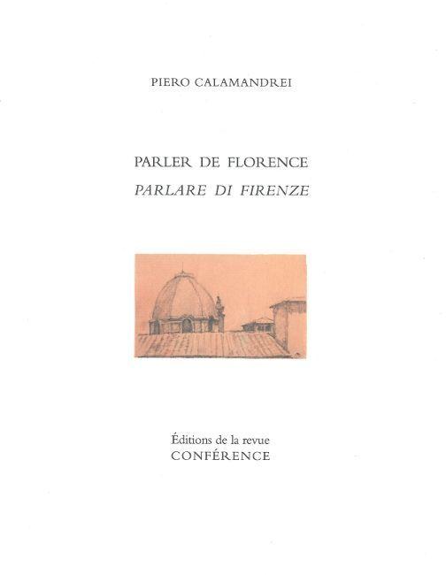 PARLER DE FLORENCE