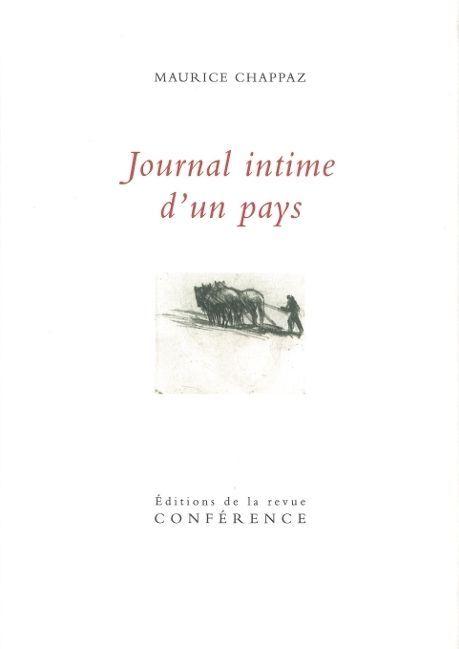 JOURNAL INTIME D'UN PAYS