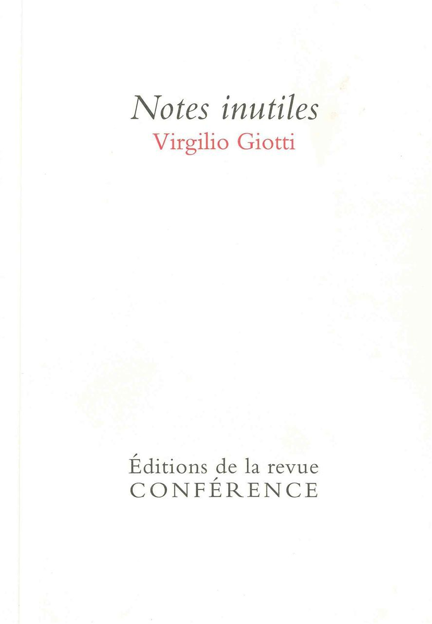 NOTES INUTILES