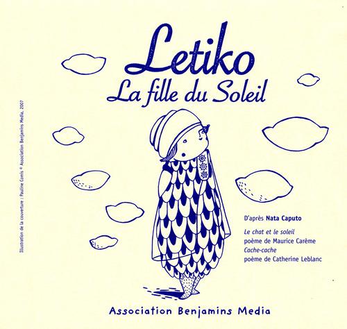 LETIKO, LA FILLE DU SOLEIL (+CD +BRAILLE/GROS CARACTERES)