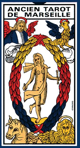 ANCIEN TAROT DE MARSEILLE - VERSION BLISTER