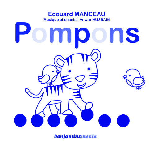 POMPONS (+CD +BRAILLE ET GROS CARACTERES)