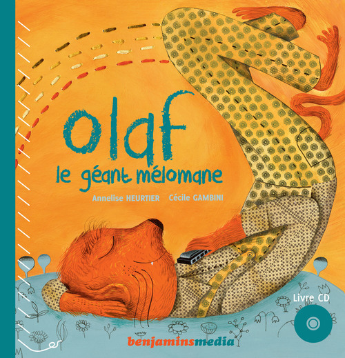 OLAF LE GEANT MELOMANE (+CD)