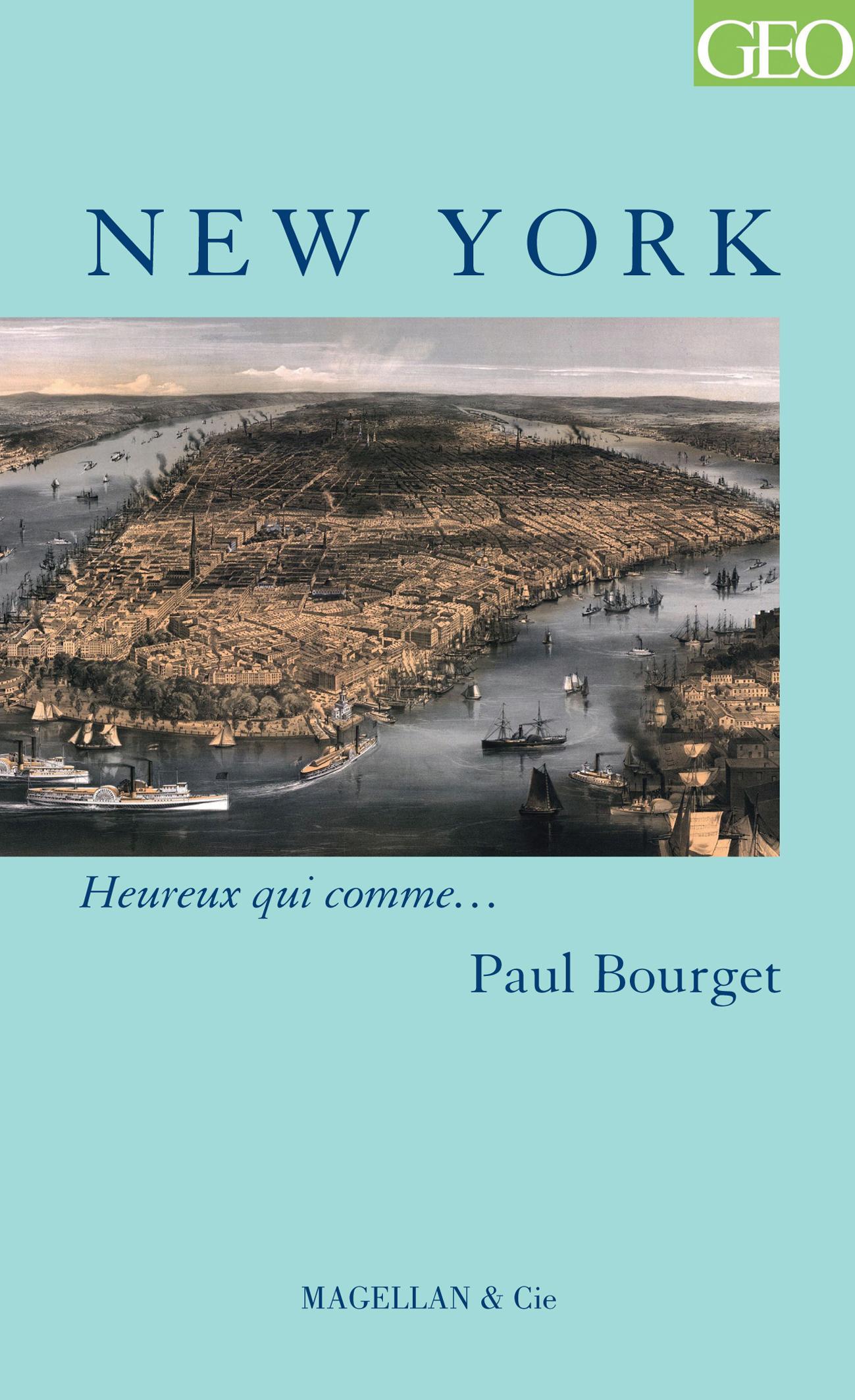 NEW YORK  - BOURGET PAUL