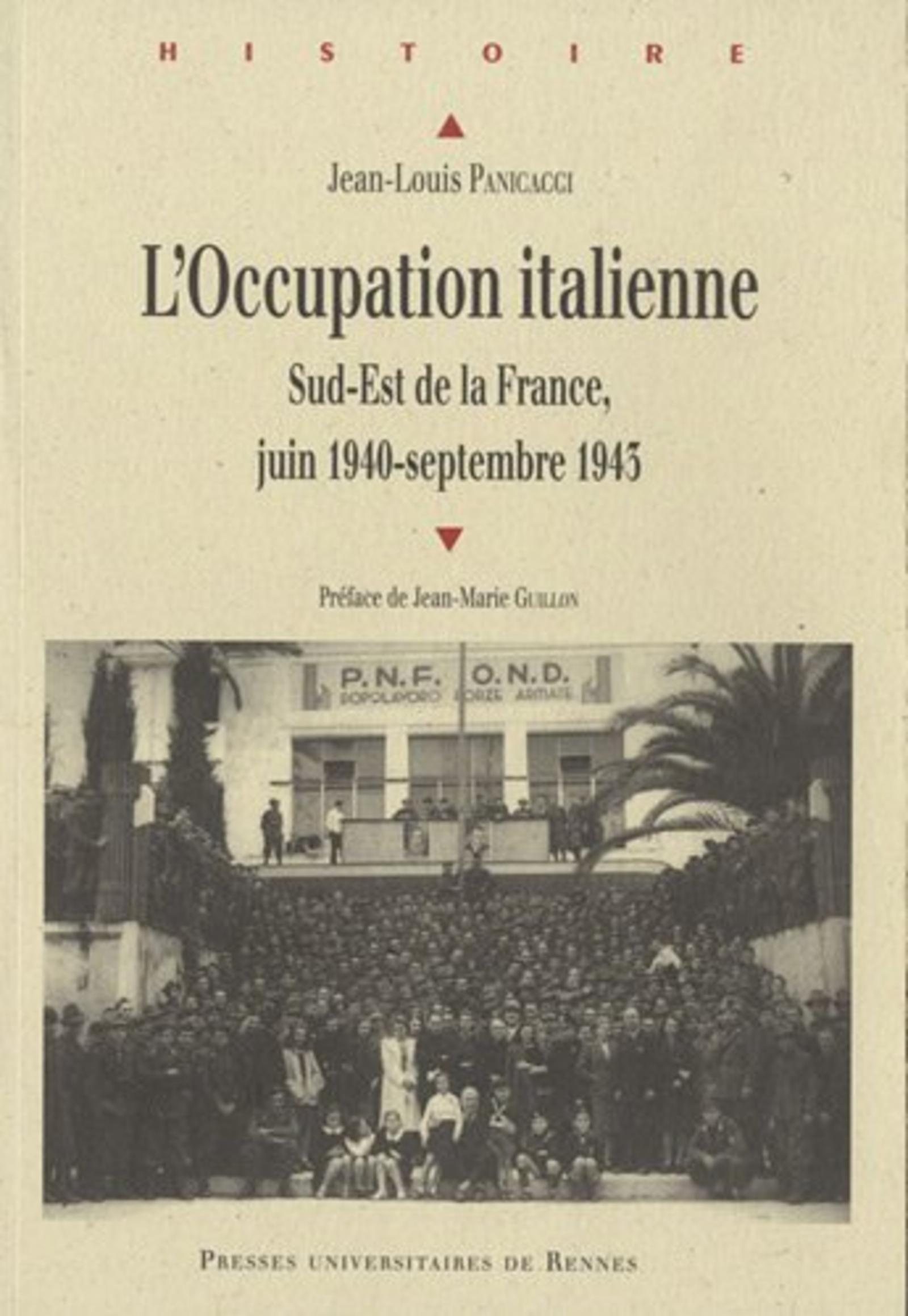 OCCUPATION ITALIENNE