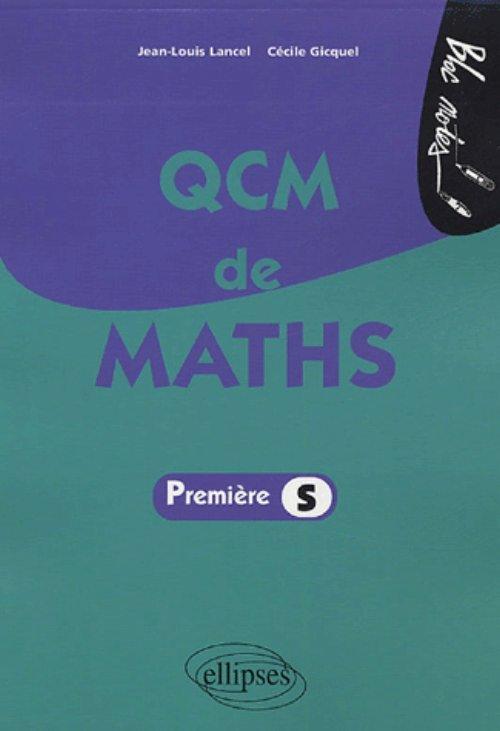 QCM DE MATHS - PREMIERE S
