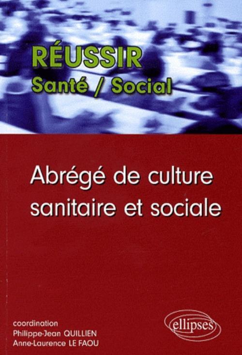 ABREGE DE CULTURE SANITAIRE ET SOCIALE