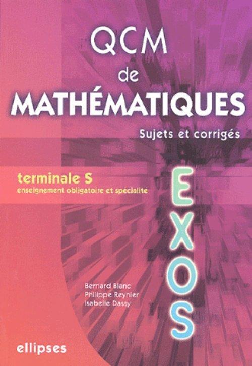 QCM DE MATHEMATIQUES - TERMINALE S (BAC 2007)
