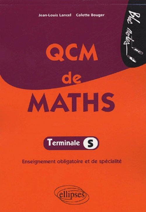 QCM DE MATHS - TERMINALE S