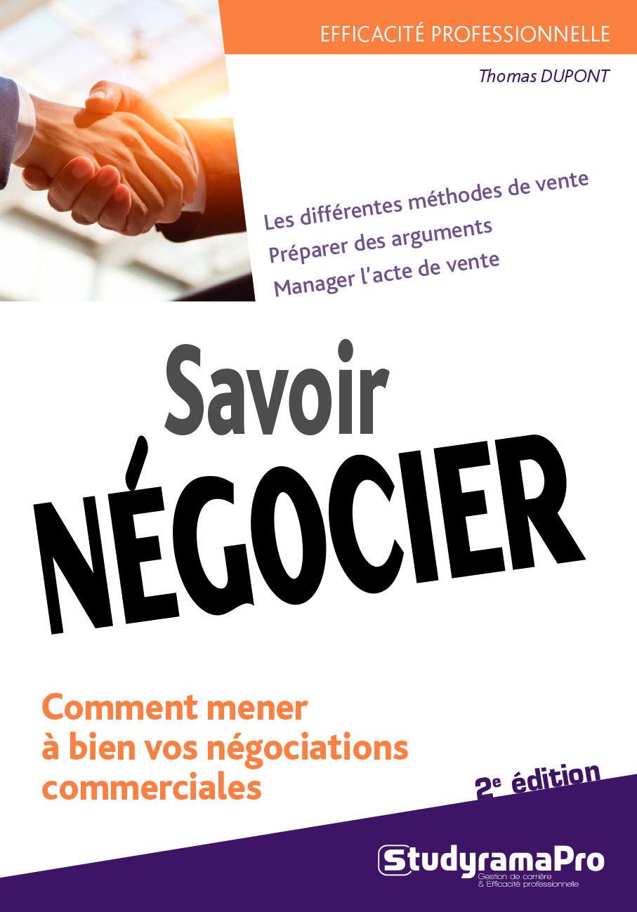 SAVOIR NEGOCIER 2 EDITION