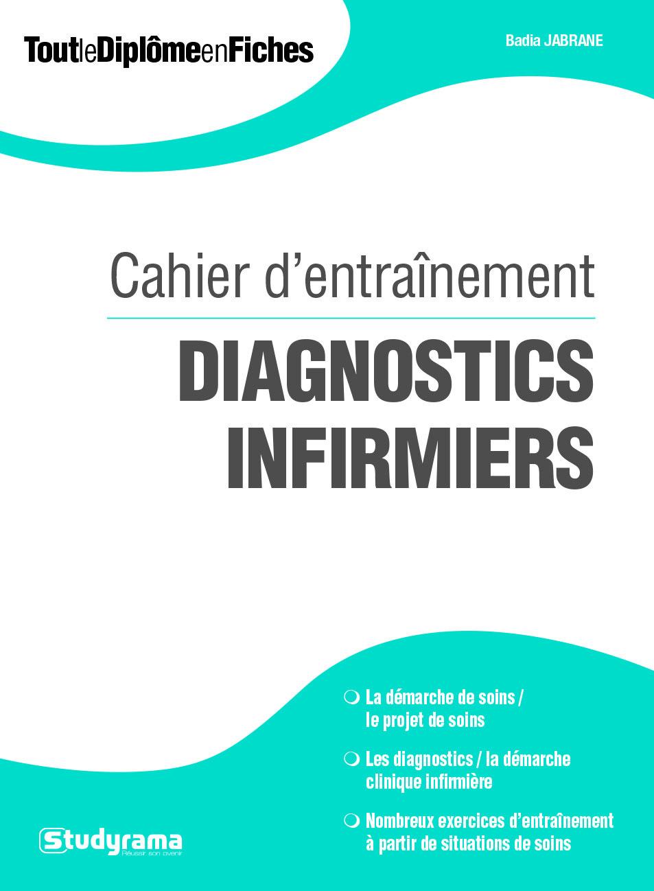 CAHIER D'ENTRAINEMENT DIAGNOSTICS INFIRMIERS