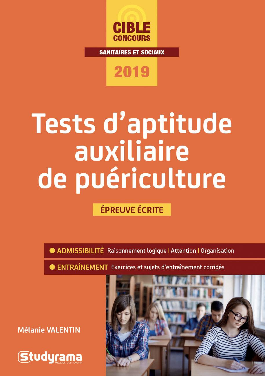 TESTS D'APTITUDE AUXILIAIRE DE PUERICULTURE 2019